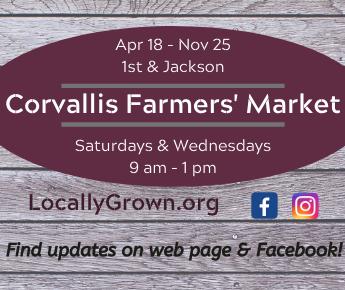 Corvallis Farmers Market 345×290